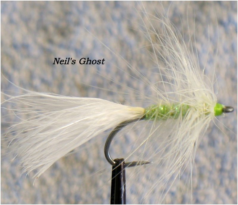 Tying Neil's Ghost for Chum Salmon