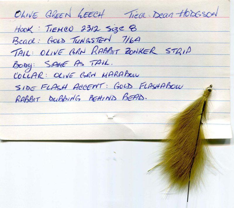 Olive Green Leach