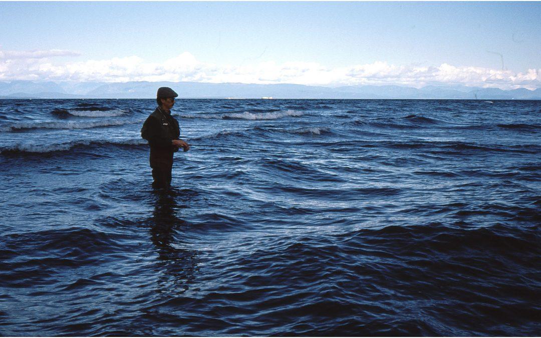 Rory Comox Valley Flyfishers Club Flyfishing On Vancouver Island